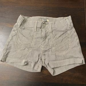 7 For All Mankind Striped Shorts